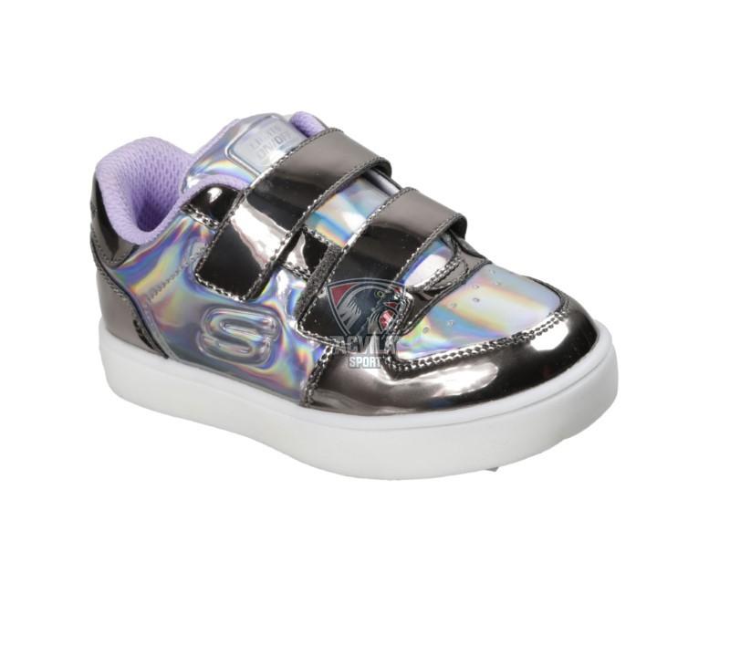 Photo acvilasport - Детская спортивная обувь SKECHERS ENERGY LIGHTS  - LIL METALLICS