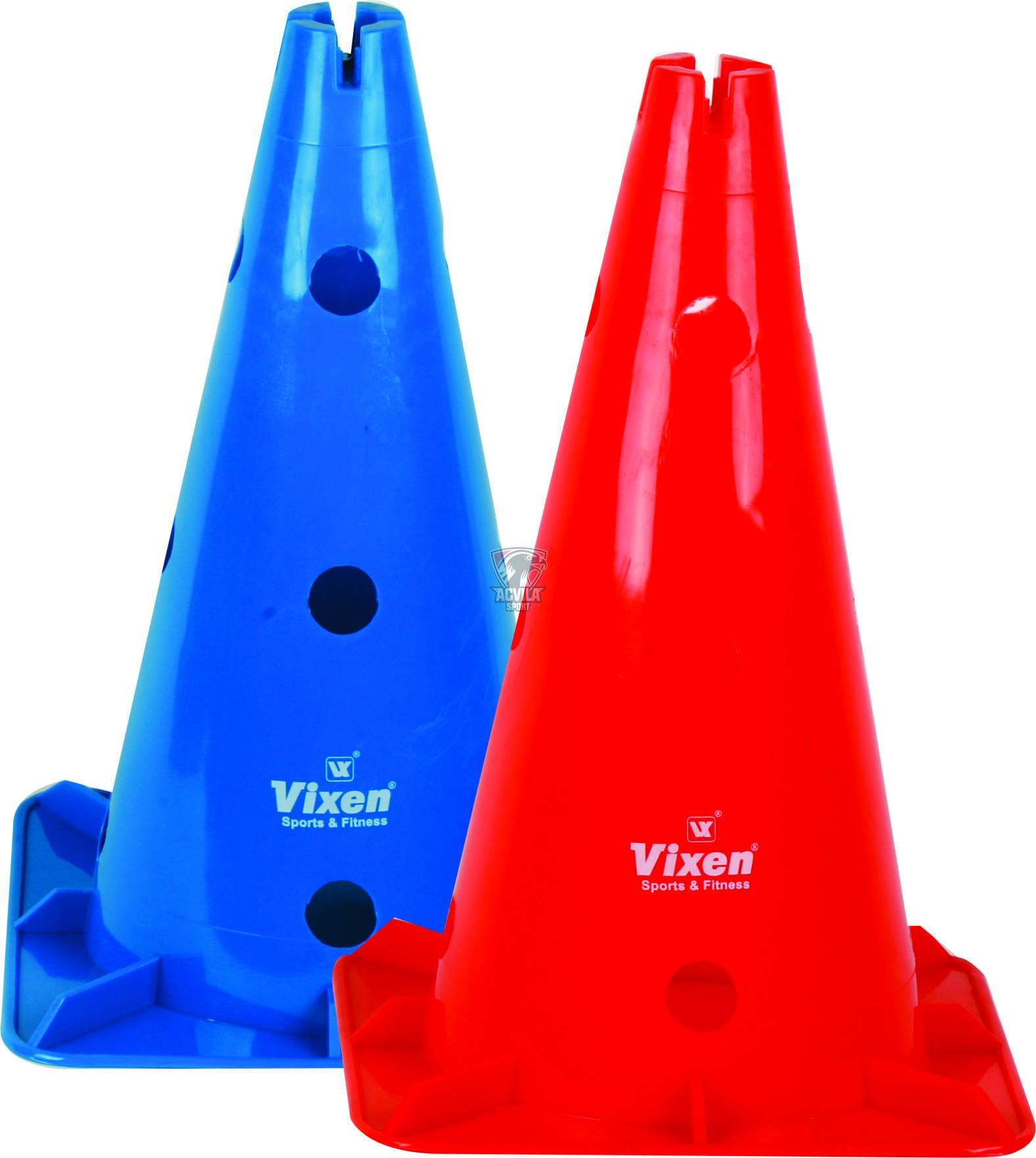photo Conuri (jaloane) pentru antrenamente 38 cm cu găuri VIXEN