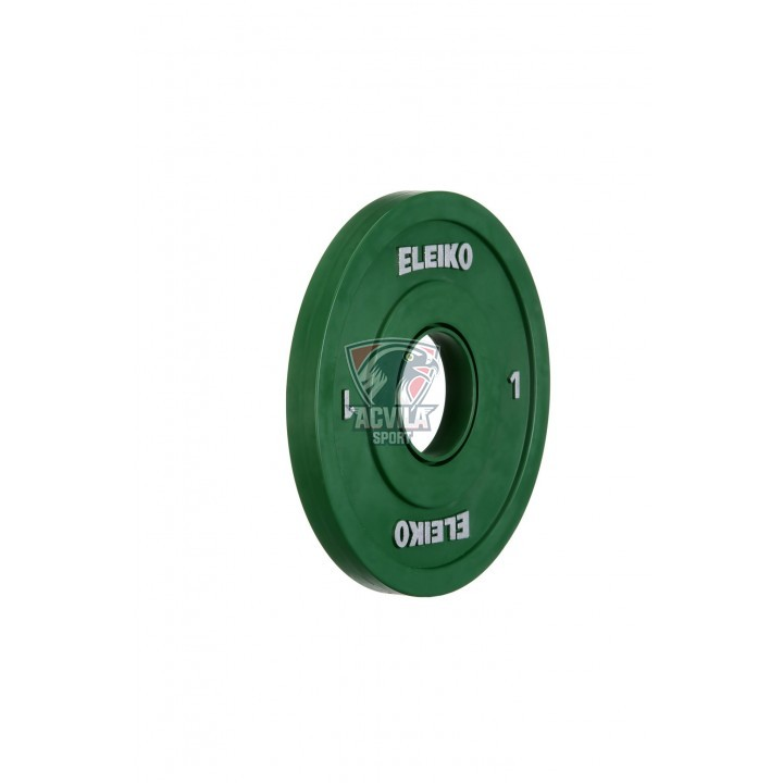 ELEIKO IWF Weightlifting Comp/Trianing Disc 1 kg