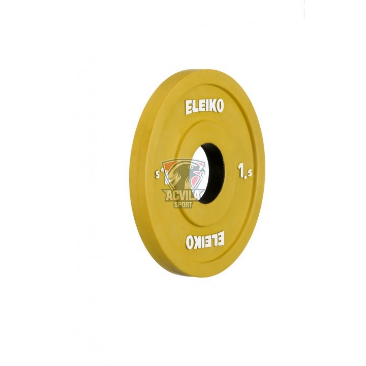 ELEIKO IWF Weightlifting Comp/Trianing Disc 1,5 kg