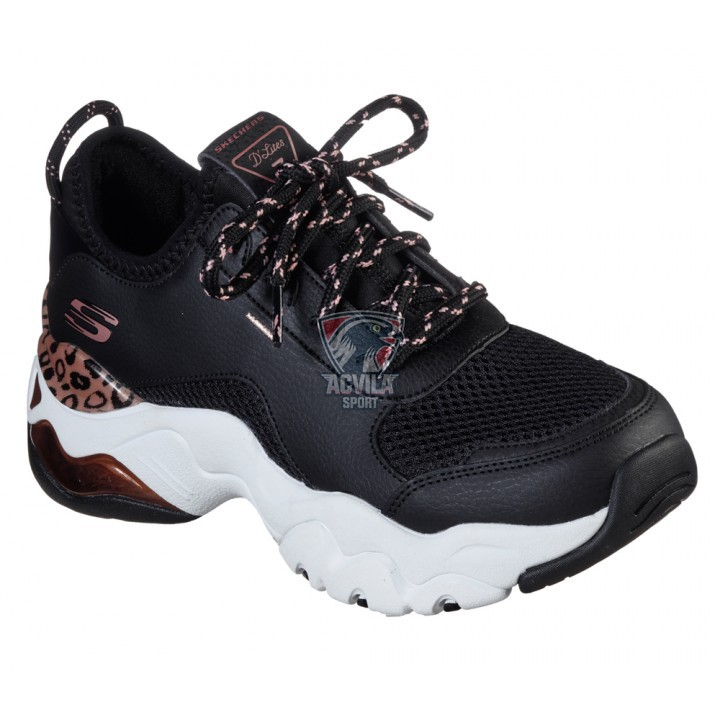 SKECHERS Dlites 3.0 Air Queen Leopa