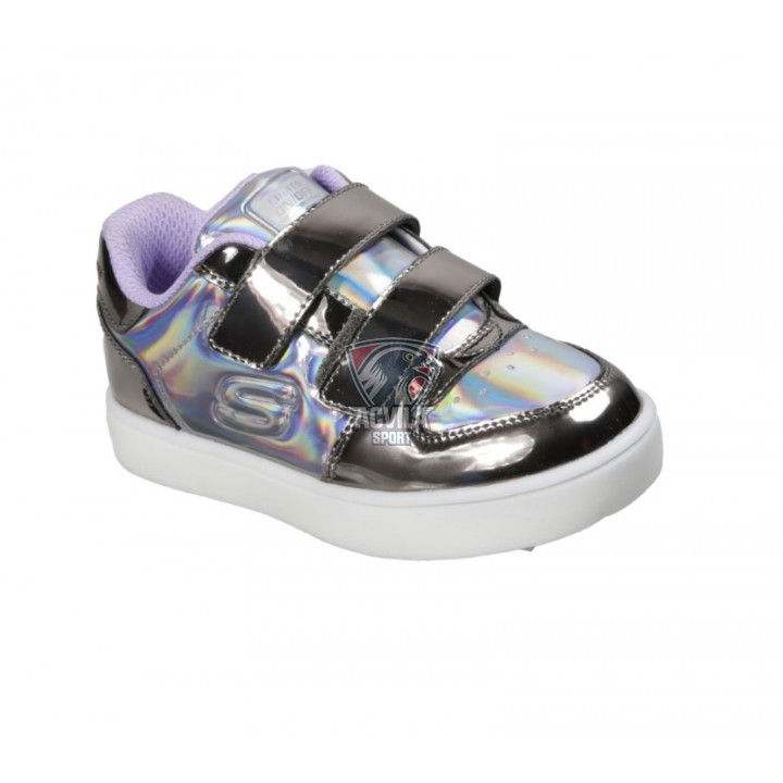 SKECHERS ENERGY LIGHTS  - LIL METALLICS