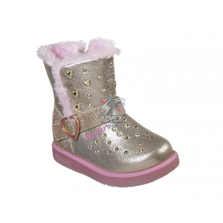 SKECHERS GLITZY GLAM-SPARKLE HEARTZ