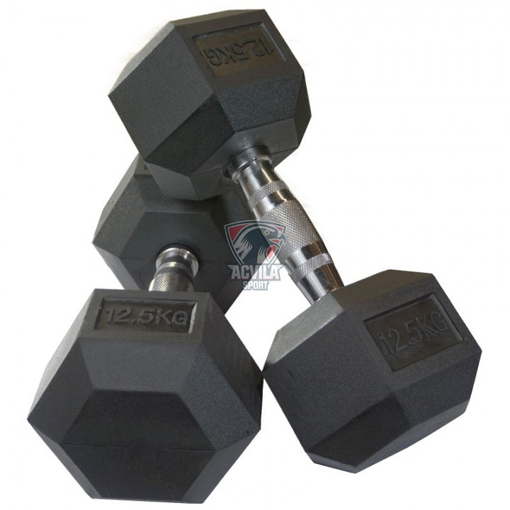 Haltere Hex 12,5 kg