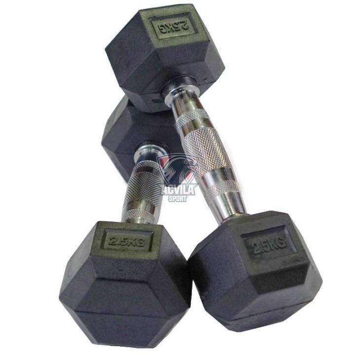 Haltere Hex 2,5 kg