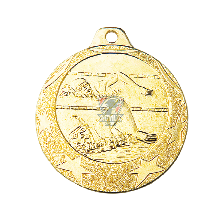 Medalii sport 40 mm, Înot