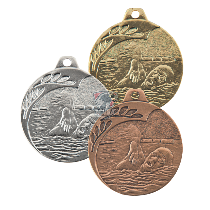 Medalie Înot 40 mm