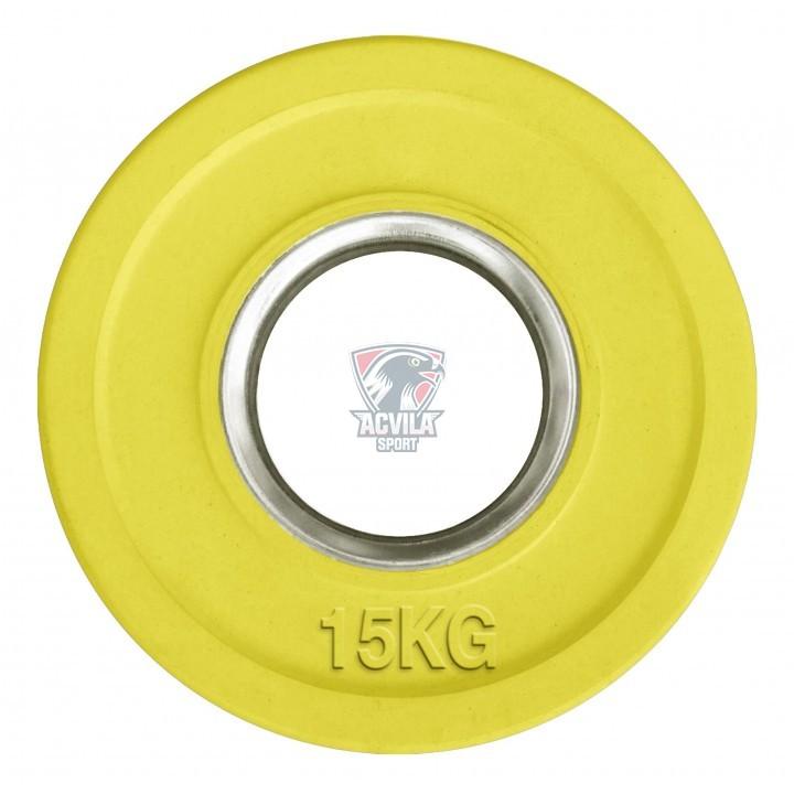 Greutate haltere/cauciucata color 15 kg