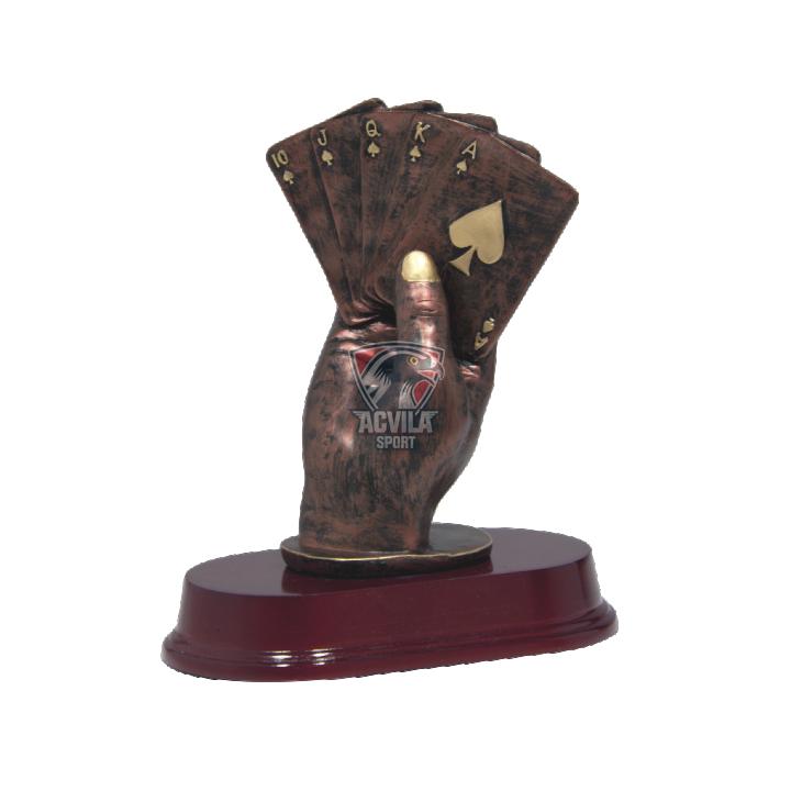 Statuietă Cărți de Joc RF2771