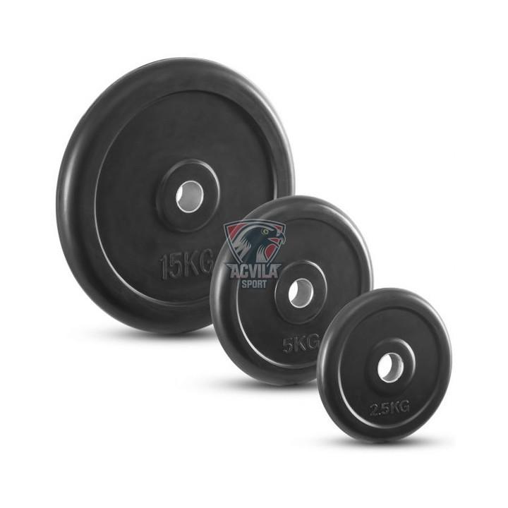 Greutate haltere/cauciucata 15 kg
