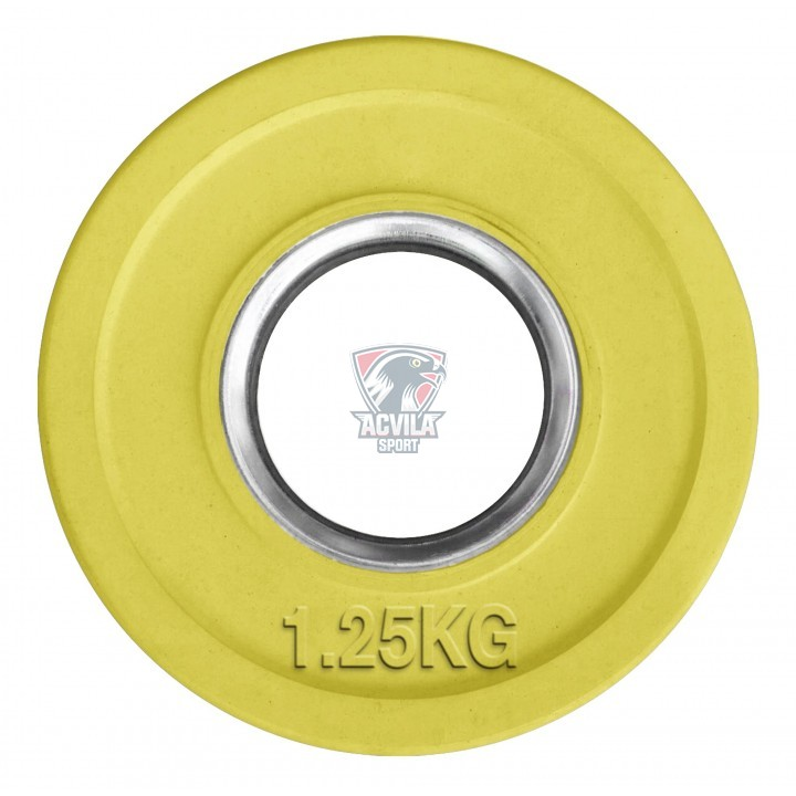 Greutate haltere/cauciucata color 1,25 kg D50