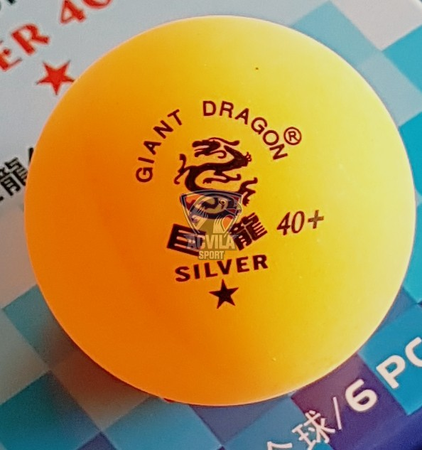 photo 3 Minge tenis masă Giant Dragon Silver 40+ 1 stea
