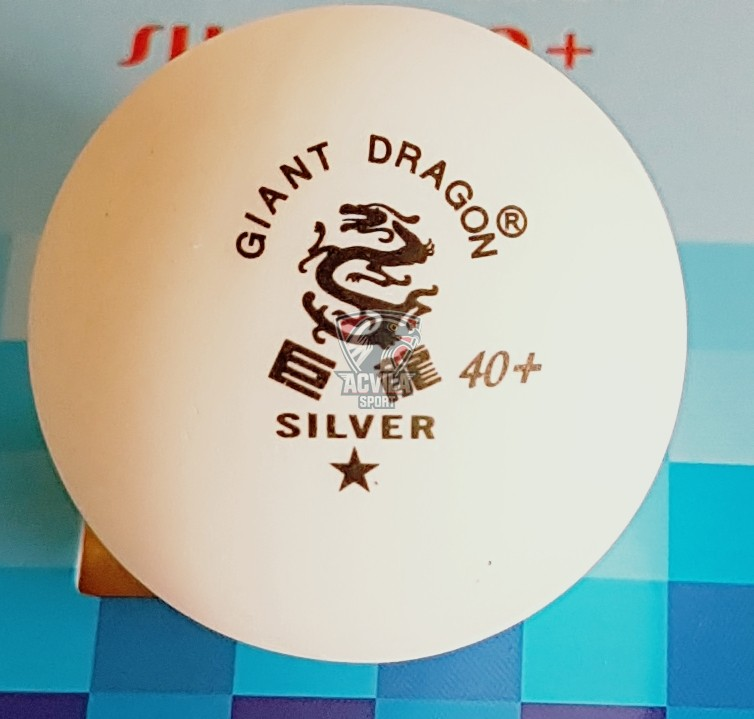 photo 1 Minge tenis masă Giant Dragon Silver 40+ 1 stea