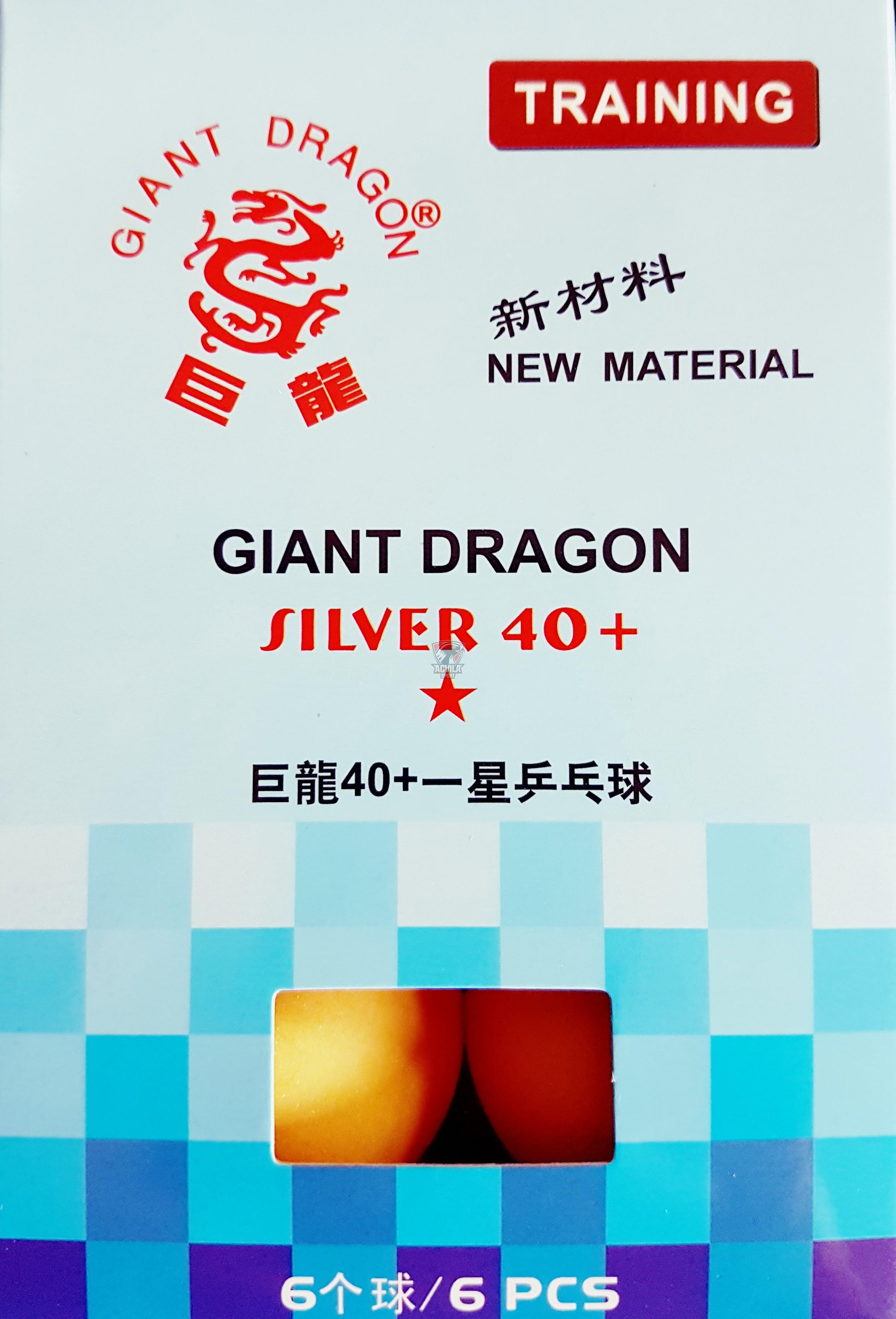 photo 2 Minge tenis masă Giant Dragon Silver 40+ 1 stea