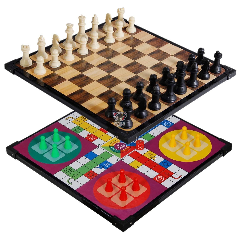 photo 1 Набор настольная игра LUDO & Шахматы