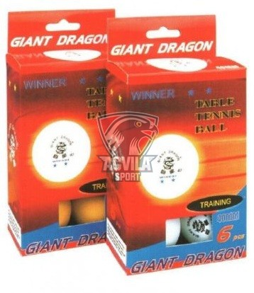photo 0 Minge tenis masă Giant Dragon Winner 40mm 2 stele